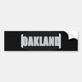 Oakland Bumper Sticker