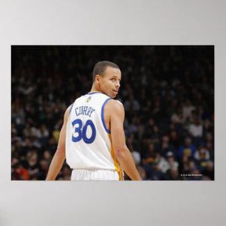 OAKLAND, CA - 12 DE FEBRERO: Curry #30 de Stephen  Impresiones