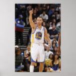 OAKLAND, CA - 20 DE ENERO: Curry #30 de Stephen de Póster