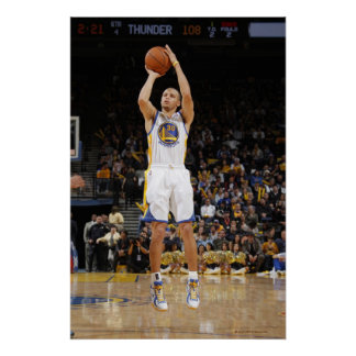 OAKLAND, CA - JANUARY 27: Stephen Curry - 2 Poster