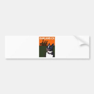 OAKLAND, CA Mutt - Harry Car Bumper Sticker