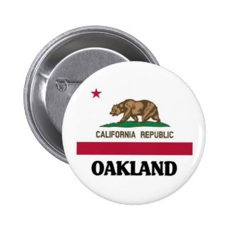 Oakland California 2 Inch Round Button