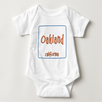Oakland California BlueBox Baby Bodysuit
