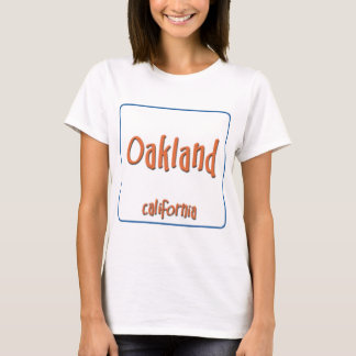 Oakland California BlueBox T-Shirt