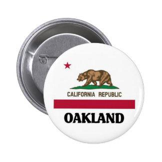 Oakland California Pinback Buttons