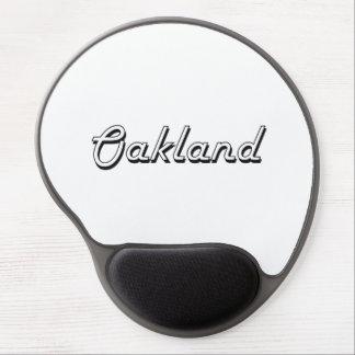 Oakland California Classic Retro Design Gel Mouse Pad