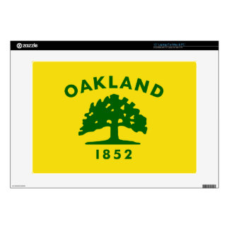 Oakland, California Flag Laptop Decals