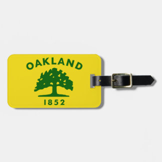 Oakland, California Flag Tag For Bags