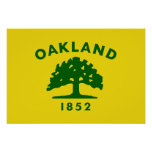 Oakland, California Flag Print