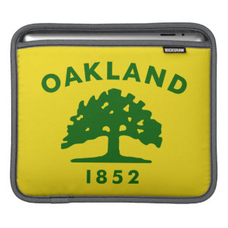 Oakland, California Flag Sleeves For iPads
