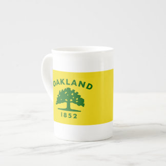 Oakland, California Flags Tea Cup