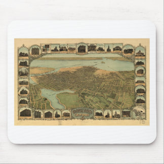 Oakland California in 1899 Mouse Pad