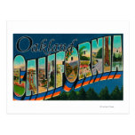 Oakland, California - Large Letter Scenes 2 Post Card