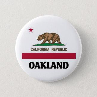 Oakland California Pinback Button