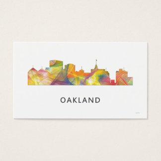 OAKLAND, CALIFORNIA SKYLINE WB1 - BUSINESS CARD