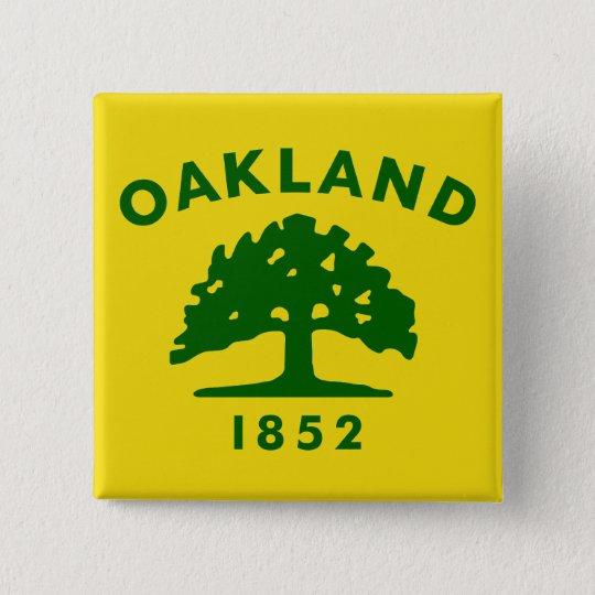 Oakland, California, United States flag Button