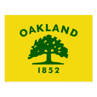 Oakland, California, United States flag Post Cards