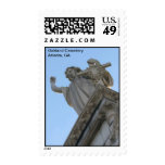 Oakland Cemetery - Atlanta Georgia Postage Stamp