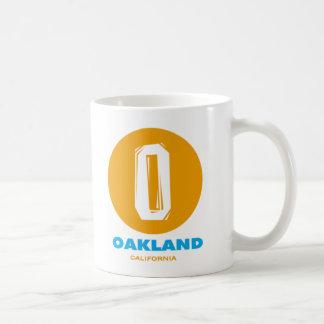 Oakland Classic White Coffee Mug