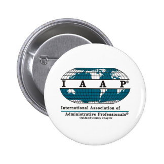 Oakland County Chapter Items 2 Inch Round Button