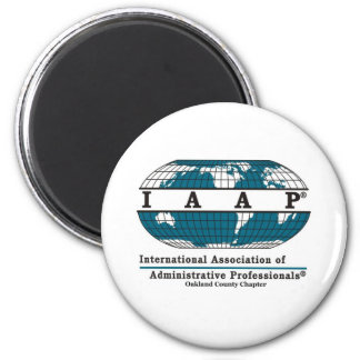 Oakland County Chapter Items 2 Inch Round Magnet