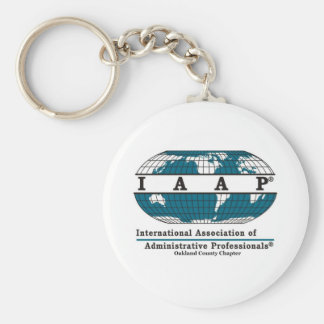 Oakland County Chapter Items Basic Round Button Keychain