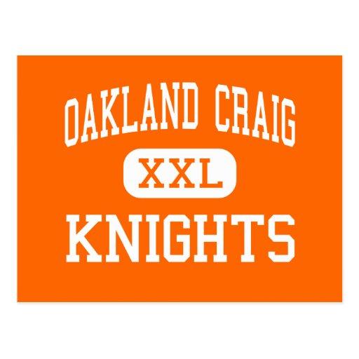 Oakland Craig - Knights - High - Oakland Nebraska Postcard