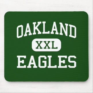 Oakland - Eagles - Alternative - Tacoma Washington Mouse Mat
