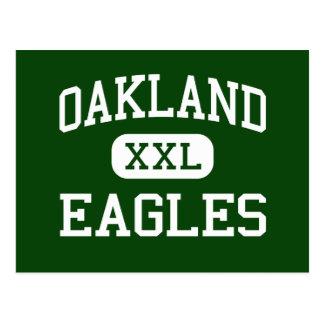 Oakland - Eagles - Alternative - Tacoma Washington Postcard