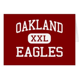 Oakland - Eagles - Catholic - Pittsburgh Greeting Card