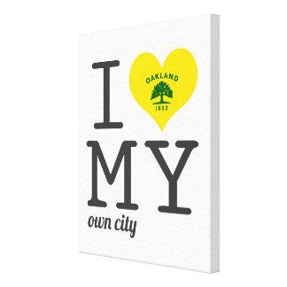 Oakland el | California Impresión En Lona Estirada