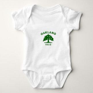 Oakland Flag1852 Baby Bodysuit