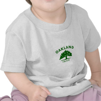 Oakland Flag1852 Camisetas