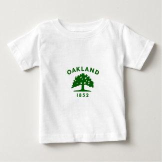 Oakland Flag1852 Playera Para Bebé