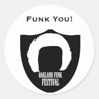 Oakland Funk Stickers