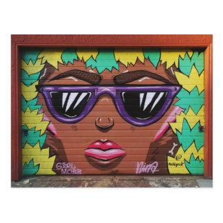 Oakland: Girl Mob Postcard