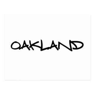 Oakland Graffiti Postcard