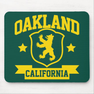 Oakland Heraldry Mouse Pad