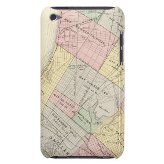 Oakland index map barely there iPod cover