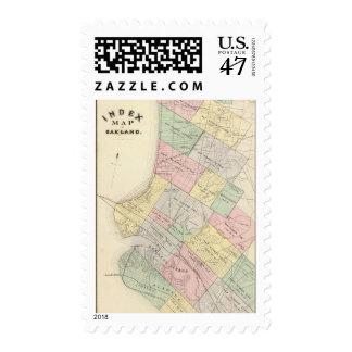 Oakland index map postage