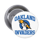 Oakland Invaders Pinback Buttons
