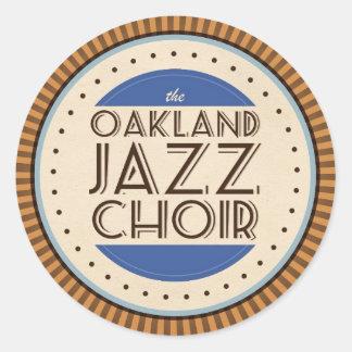 Oakland Jazz Choir Sticker