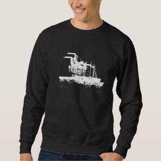 Oakland landmarks, Port of Oakland Cranes, Zipcode Sweatshirt