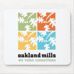 Oakland Mills Mouse Pad