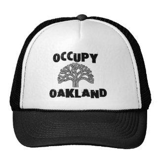 Oakland OCCUPY TRUCKER HAT