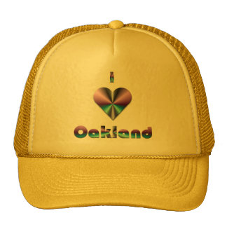 Oakland -- Purple & Turquoise Mesh Hat