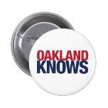 Oakland sabe pin