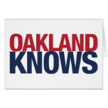 Oakland sabe tarjetón