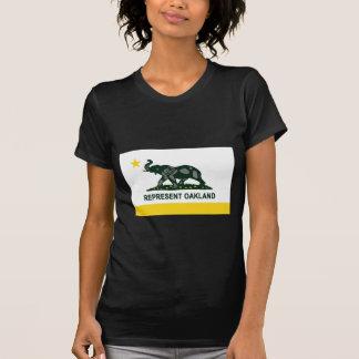 Oakland State Flag Tee Shirt