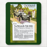 Oakland - The Car with a Consicence Mousepads